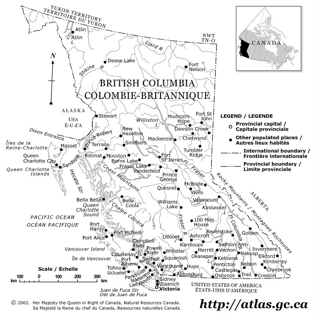 Maps Courtesy Of The Atlas Of Canada